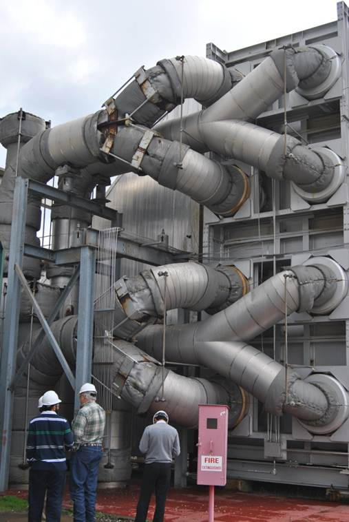 GAS TURBINE PIPING