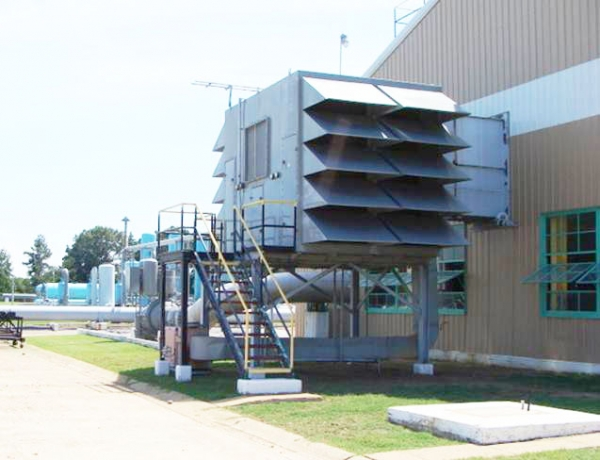 Air Inlet Filter House